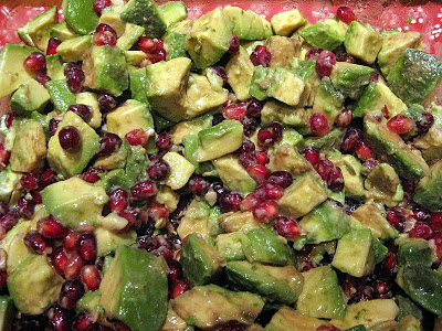 Avocado And Pomegranate Salad