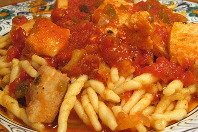 Trofie Pasta With Swordfish