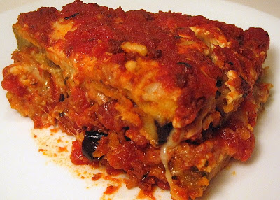 Four-Cheese Eggplant Parmigiana