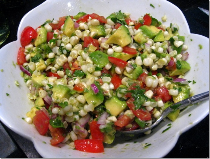 Avocado-Corn-Tomato Salad
