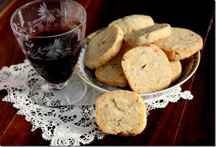 Parmesan Almond Crackers