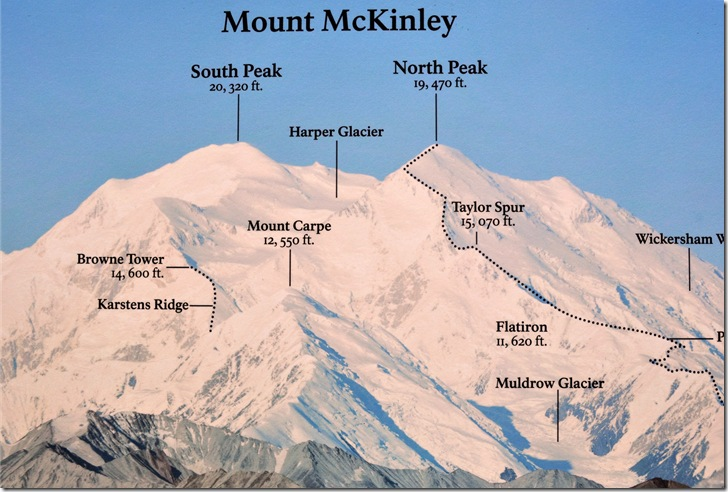 Searching For Mount McKinley