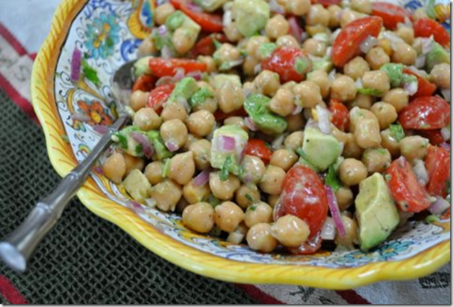 Chickpea Avocado Salad And Other Goodies