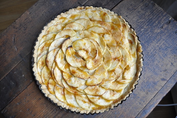 Apple Tart, Miracle Crust And Mother Nature Too