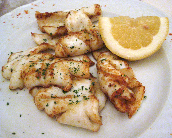 Grilled Calamari At Le Mani In Pasta
