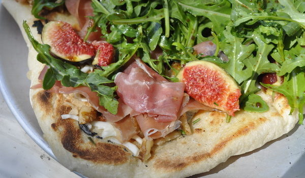 Grilled Pizza With Figs And Other Delights