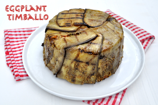 Eggplant And Pasta Timballo