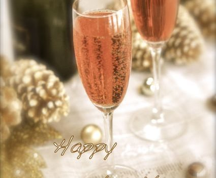Kir Royale And Champagne