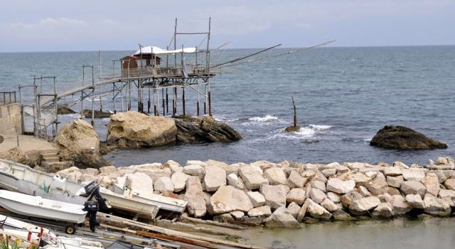 Lunch On A Trabocco