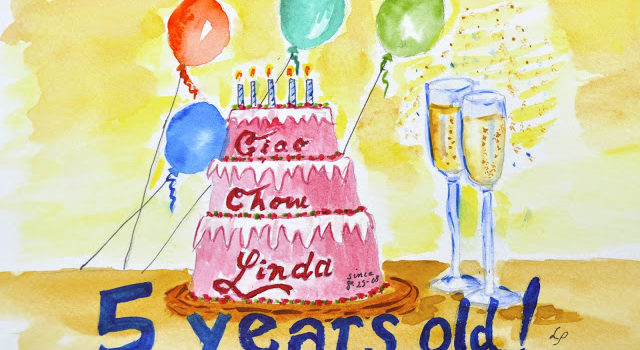 Ciao Chow Linda Celebrates Five Years With Thanks And A Giveaway
