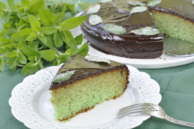 Mint Cake In Sulmona