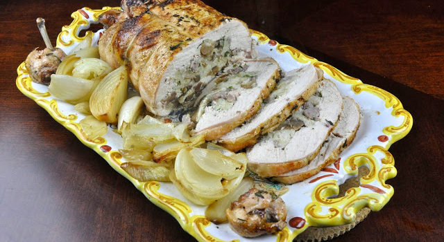 Roasted And Stuffed Chicken, But No Bones About It!