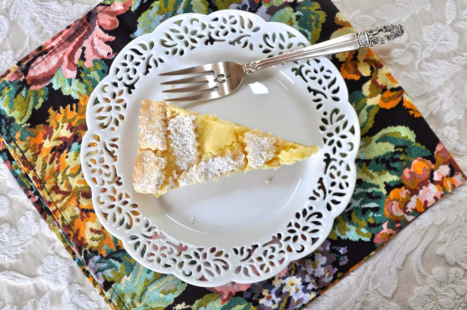 Domenica Marchetti's Lemon Ricotta Crostata And Cookies Too.