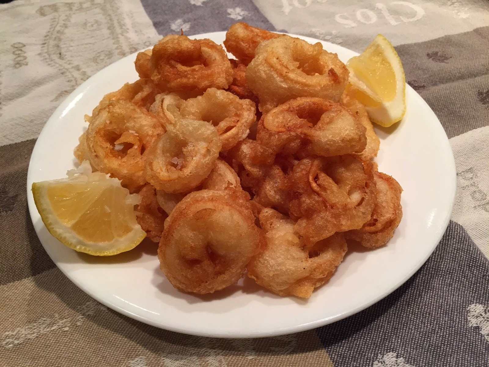 Fried Calamari (Squid)