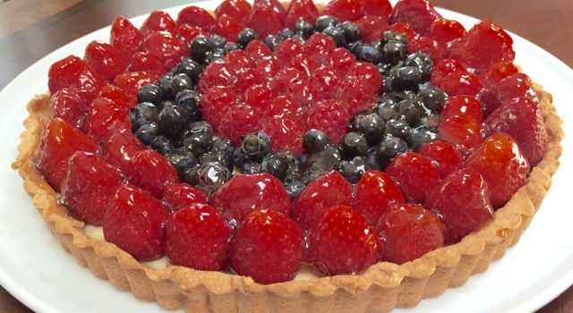Berry Cheese Tart