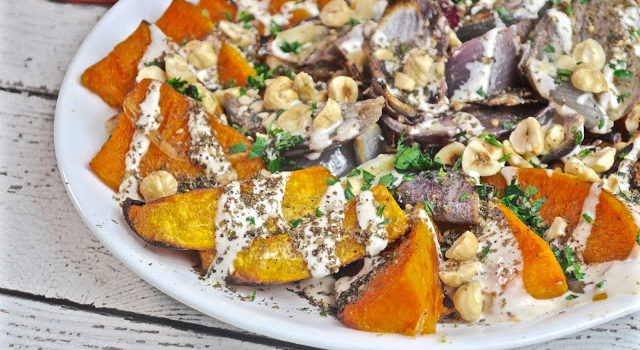 Roasted Butternut Squash And Red Onions