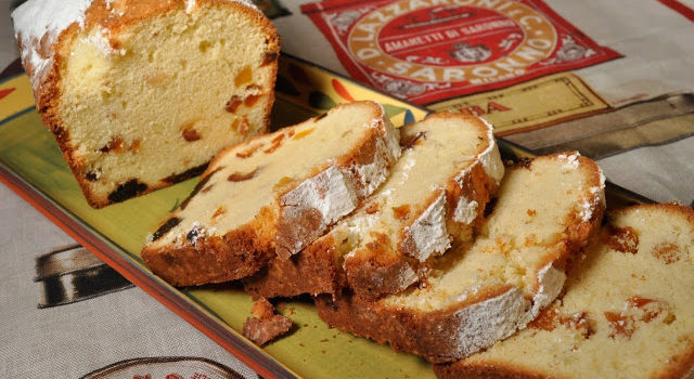 Almond Pound Cake With Dried Fruits