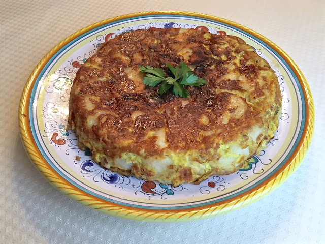 Spanish Tortilla And Sorolla