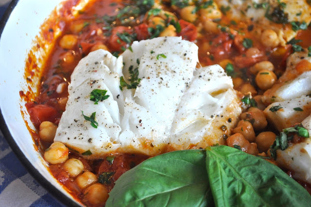Codfish With Chickpeas