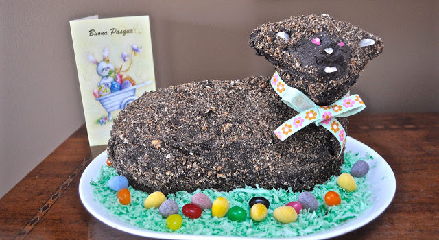 "Chocolate ""Lamb"" Cake"