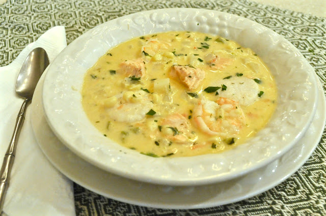 fish and corn chowder ciao chow linda