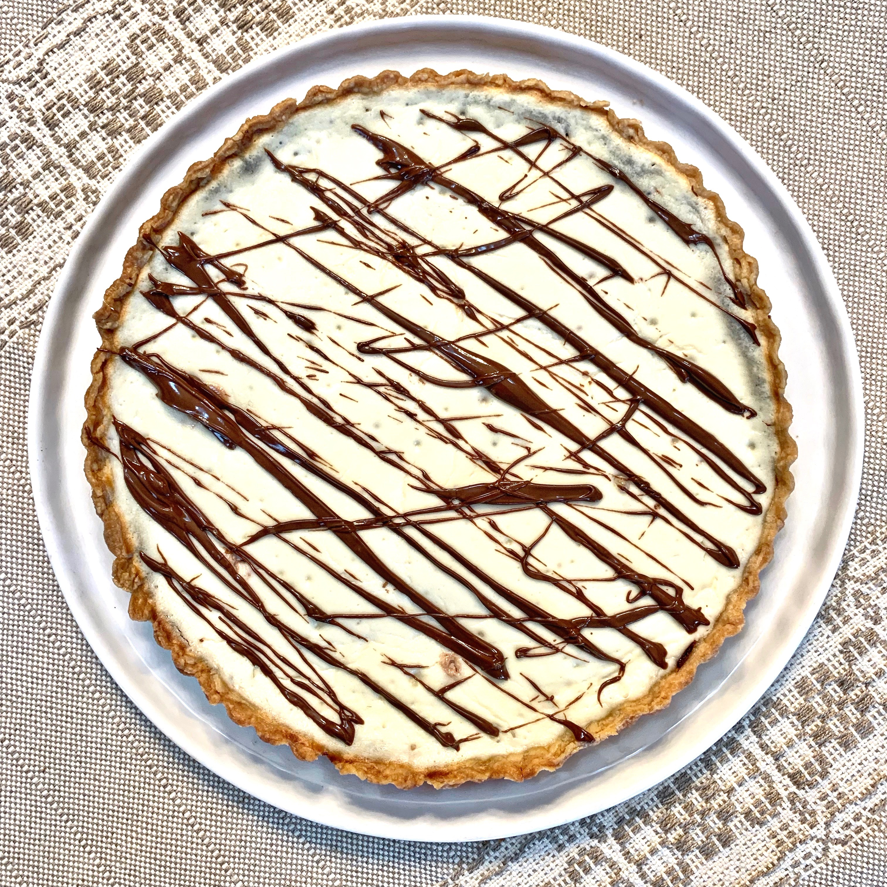 Ricotta And Nutella Tart