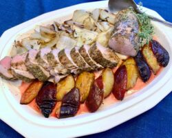 Pork Tenderloin With Plums