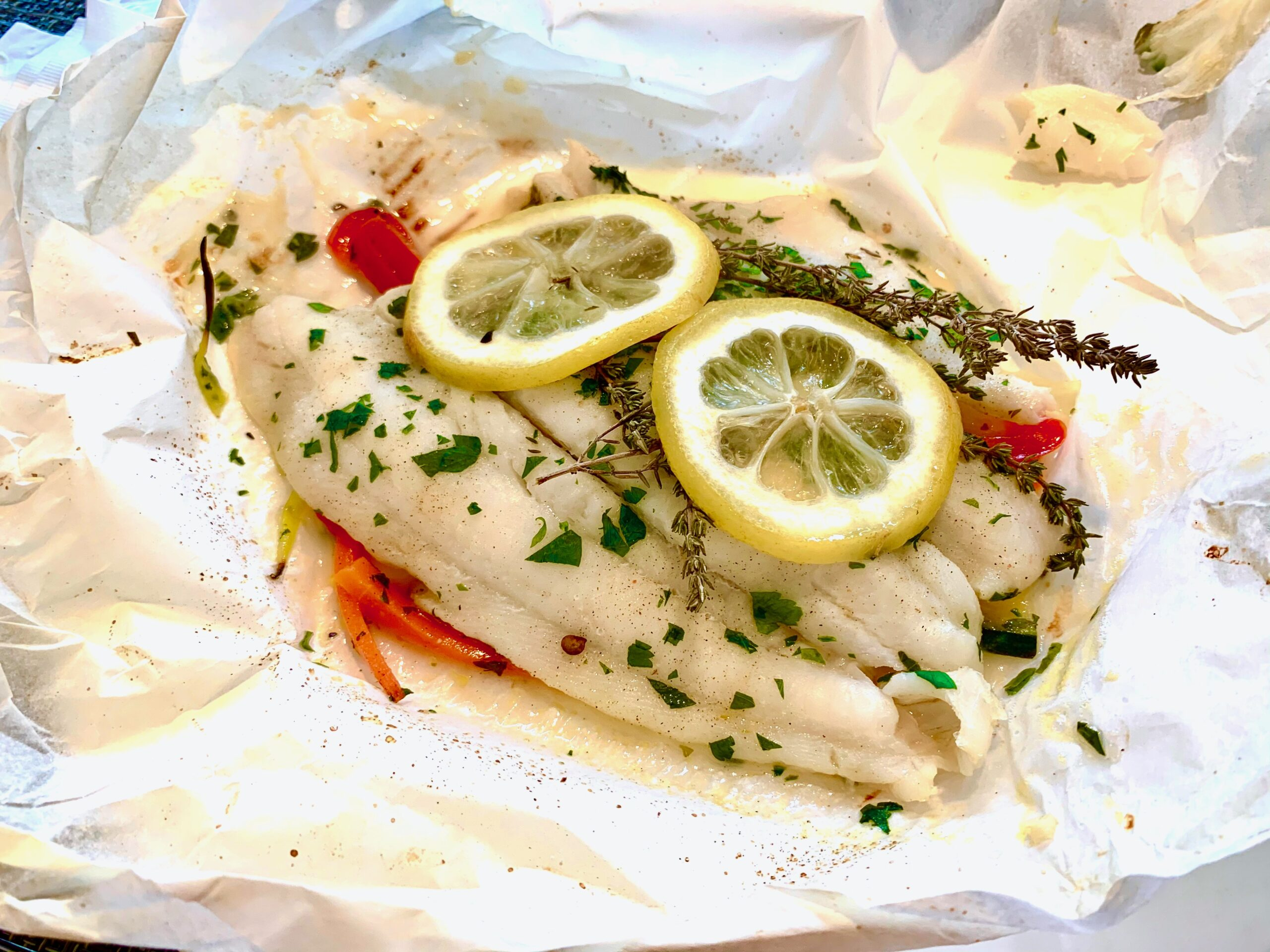 Sole In Parchment