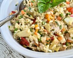 Italian Rice Salad And A Giveaway